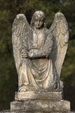 Ange en pierre Image stock