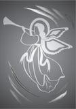 Ange, figure sainte illustration de vecteur