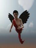 Ange foncé Photos libres de droits