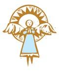 Ange grand #2 illustration de vecteur