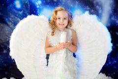 Ange heureux Photo stock