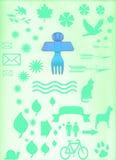 Ange indigène Image stock