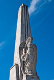 Ange sur l'obélisque dans Iulia alba Photo libre de droits