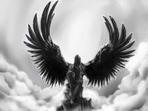Ange tombé Image libre de droits