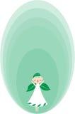 Ange vert Image libre de droits