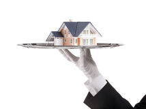 Angebot des Hauses Stockfoto