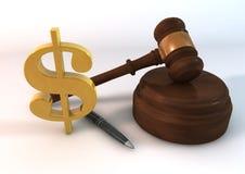 Angebot-Dollar Lizenzfreies Stockbild