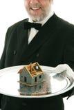 Angebot eines Hauses Lizenzfreies Stockbild