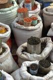 Angebot von Waren auf dem Straßenmarkt von Bulawayo in Simbabwe lizenzfreies stockbild