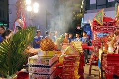 Angebote von 2016 Volkskulturfestival des zwischenstaatlichen (Xiamen) Gottes der alten Stadt Stockbilder
