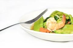 Angebratenes Gemüse Stockfotografie