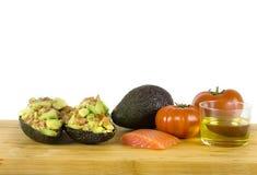 Angefüllte Avocados Stockfotografie