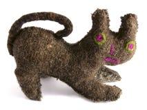 Angefüllte Katze Stockbild