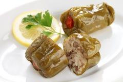 Biber dolmasi, türkische Nahrung Stockbilder