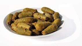 Angefüllte Zucchini Lizenzfreie Stockbilder