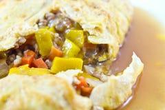 Angefülltes Omelett Stockfotografie