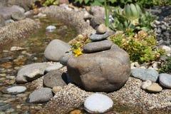 Angehäufte Steine stockbilder