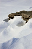Angehäufter Schnee Lizenzfreie Stockfotos