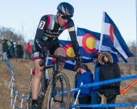 2014 Angehörige USAC Cyclocross Stockbild