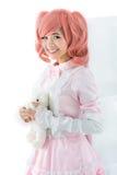 Angekleidet für cosplay Stockfotografie