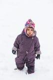 Angekleidet für Winter Lizenzfreie Stockfotografie