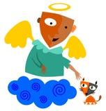 Angel's kot Zdjęcie Stock