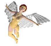 Angel夫人 免版税库存照片