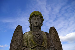 Angel ​​of stone Stock Photos