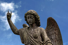 Angel ​​of stone Stock Photography