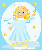 Angel. Stock Photo
