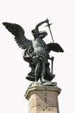 Angel. Warrior angel with sword and wings Royalty Free Stock Photos