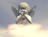 Angel. Digital visualization of an angel Royalty Free Stock Images