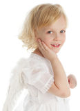 Angel. Child with wings of an angel Royalty Free Stock Photography