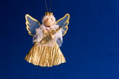 Angel. Christmas background showing a home decoration Stock Image