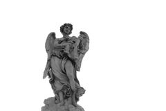 Angel. Statue of Angel in Rome, Italy Stock Photo
