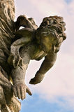 Angel. Statue in the South Bohemia stock photo