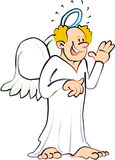 Angel. Illustration  art cartoon Royalty Free Stock Photography