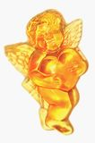 Angel. Made out of soap Stock Images