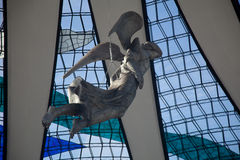 Angel. Hanging in the Brasilia Cathedral in Brazil Royalty Free Stock Photo
