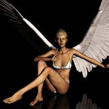 Angel 167 Royalty Free Stock Photo