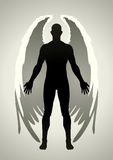 Angel. Vector illustration of an angel figure Royalty Free Stock Images