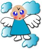Angel. Illustration of a digital angel image Stock Images