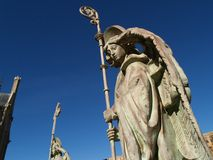Angel. At astorga (Santiago's Route, Spain stock photography
