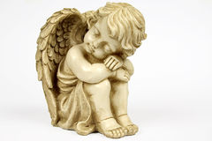 Angel. The angel figurine, statue, sculpture Stock Photography