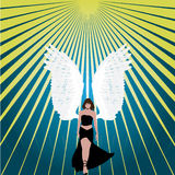 Angel Abstract texture. Angel abstract elegant modern beautiful texture vector Stock Photos