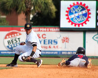 Angel Aguilar, Charleston RiverDogs Royalty Free Stock Images