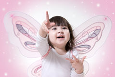Angel And Star Stock Photography