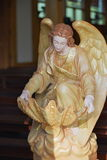 Angel. S Catholic in side church Royalty Free Stock Photos