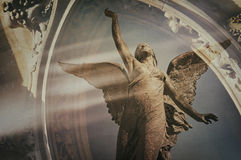 Angel ascending Royalty Free Stock Photos