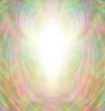 Angel Aura Background dourado ilustração stock